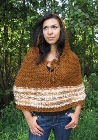 Restful Hooded Poncho